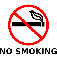 Наклейка No smoking 6