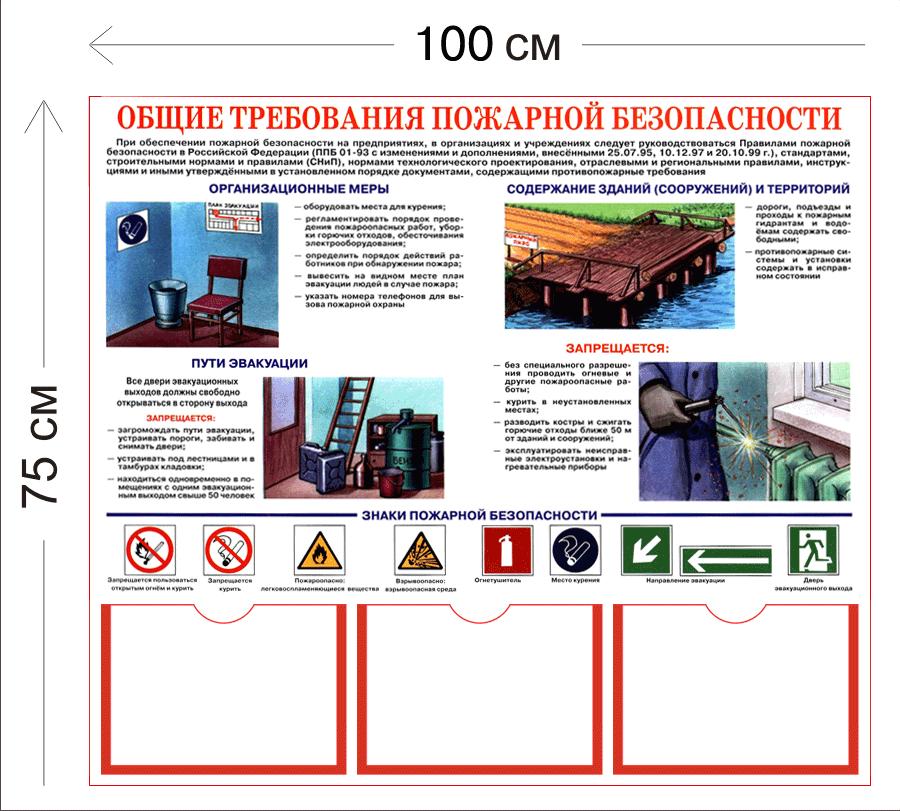 предусмотрена система установка оповещения людей о пожаре
