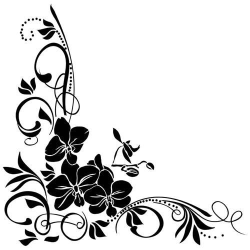 фото орнамент цветочный