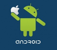 Наклейка Android! No Apple