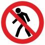 Знак для строительной площадки Проход запрещен